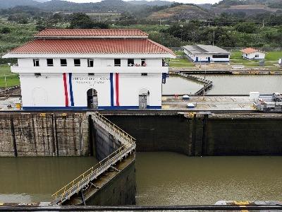 Das Miraflores Visit Center am Panama Kanal